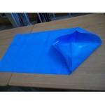 Anti-slip polythene bags blue