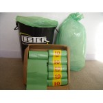 Heavy Duty Sacks Bags Green